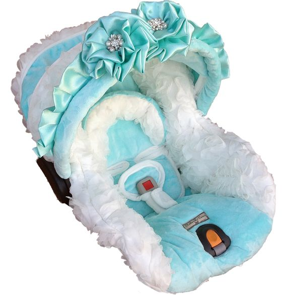Baby Car Seat Cover Carseat Girl Covers Tiffany Blue Seats