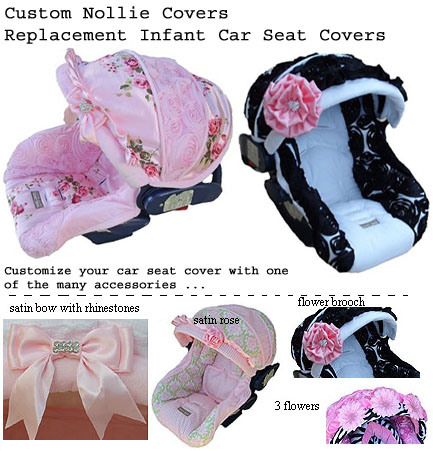 Nollie Covers Makes Full Padded Replacement Car Seat And Canopies Are Custom Made To Replace Your Original Infant Cover