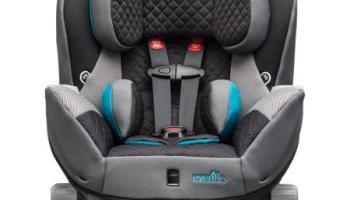 Evenflo Triumph LX Convertible Car Seat Mosaic Newborn Baby Girl